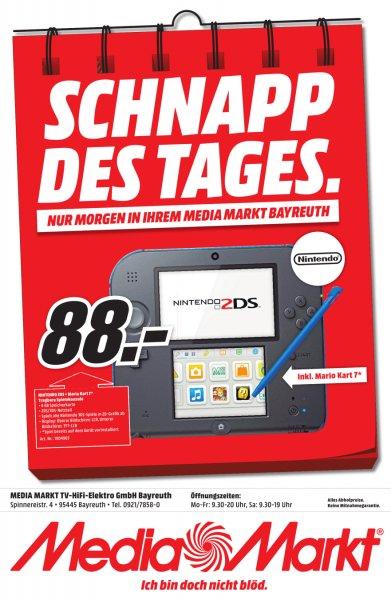 [lokal Bayreuth] Nintendo 2DS + Mario Kart 7 für 88€