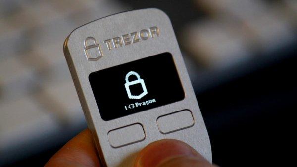 Bitcoin TREZOR Hardware-Wallet mit 36% Rabatt