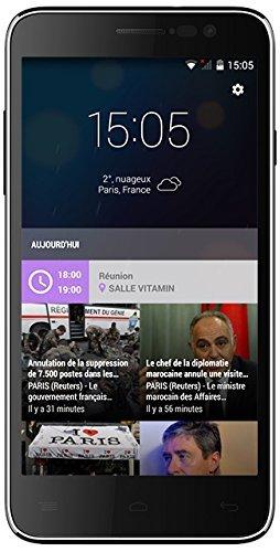 "Vitamin A - LTE & Dual Sim Smartphone (5"" HD, QC 4x 1,50 Ghz, 1GB Ram, 8GB Speicher (erweiterbar), 13 MP + 5MP Kamera, Android 4.4) für 104,72€ @Amazon.fr"
