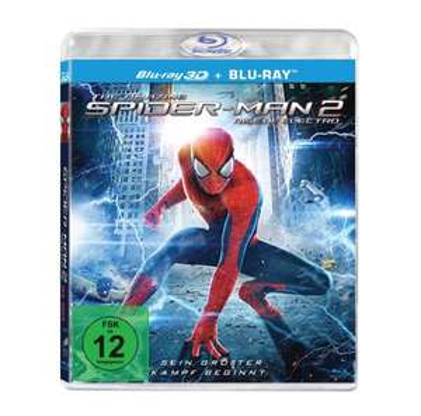 Amazon Prime: The Amazing Spider-Man 2: Rise of Electro (3D + 2D Version - 2 Discs) für 10,97 Euro