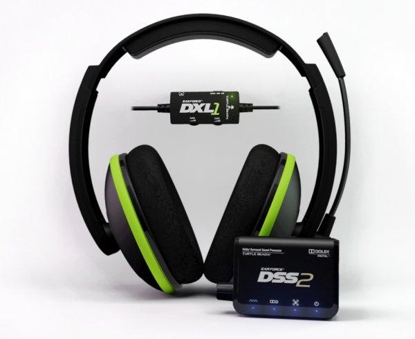 Headset PS4 / Xbox 360 - TurtleBeach EarForce DXL1 Dolby Surround Sound