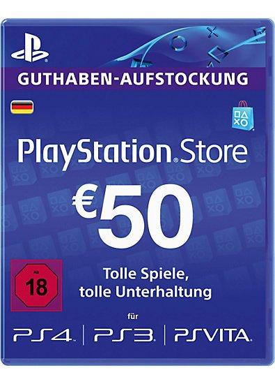 [PSN Guthaben] 50€-Karte für ~40€ [Gameladen.com]
