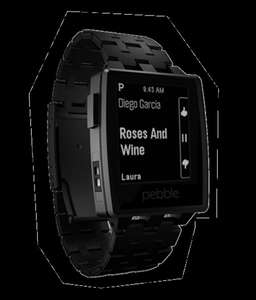 Pebble Steel (jet black) für 149,95€ bei getdevice.de