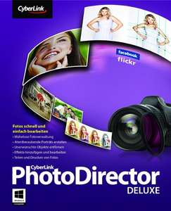 CyberLink PhotoDirector 5 Deluxe (Win) Kostenlos