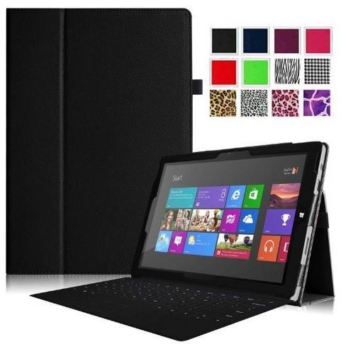 Fintie Microsoft Surface Pro 3 Hülle Kunstleder in schwarz, statt 30.99€