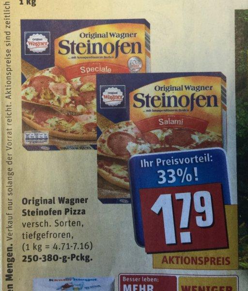 KW28 REWE Nord Wagner Steinpfenpizza 33% billiger 1,79.-