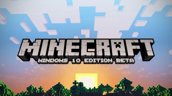 Minecraft Windows 10 Edition Beta (ab 29 Juli im MS Store)