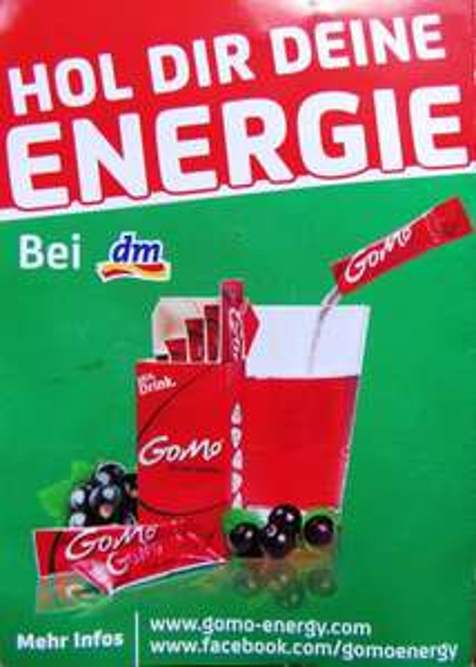 [DM] Gratis Promopacks GoMo Instant Energy