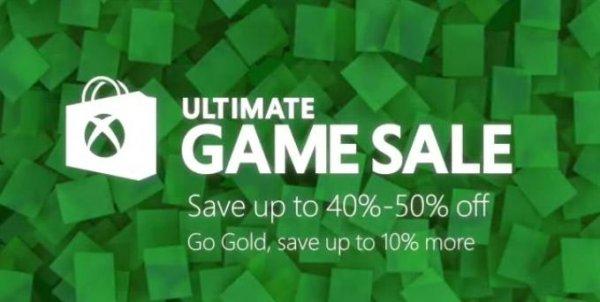 Xbox Ultimate Game Sale / bis 50% viele Titel + 10% für Gold Mitglieder