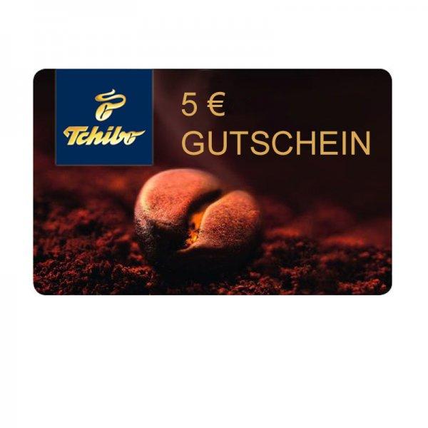 Tchibo 5€ Geschenkkarte bei Einkaufswert von 25€