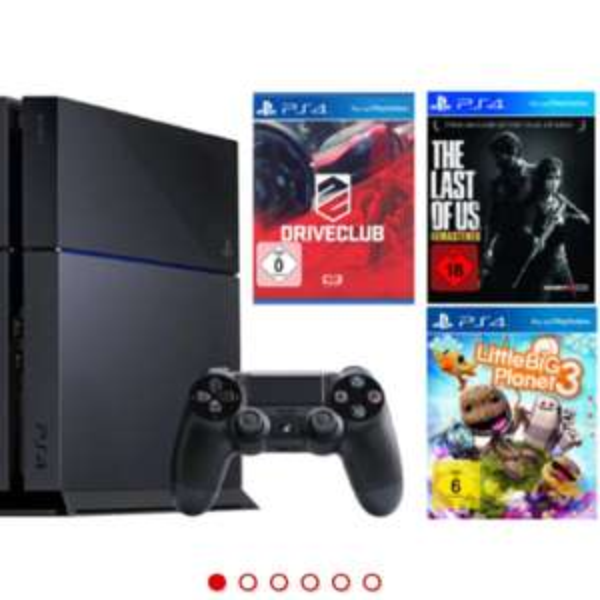 PlayStation 4 mit 3 Spielen für 266€ mit einem Trick