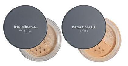 BareMinerals Foundation Duo (Original & Matte) bei QVC zusammen 37,77 Euro