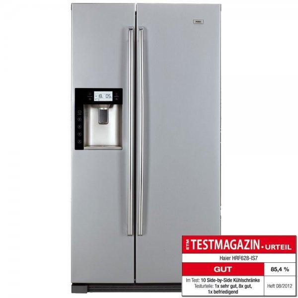 Haier HRF-628IS7 Side-by-Side Kühl-Gefrier-Kombination / A++ / 350 kWh/Jahr / 380 L Kühlteil / 172 L Gefrierteil / Wasser, Eisspender und Ice Crusher für 849€ @Redcoon.de