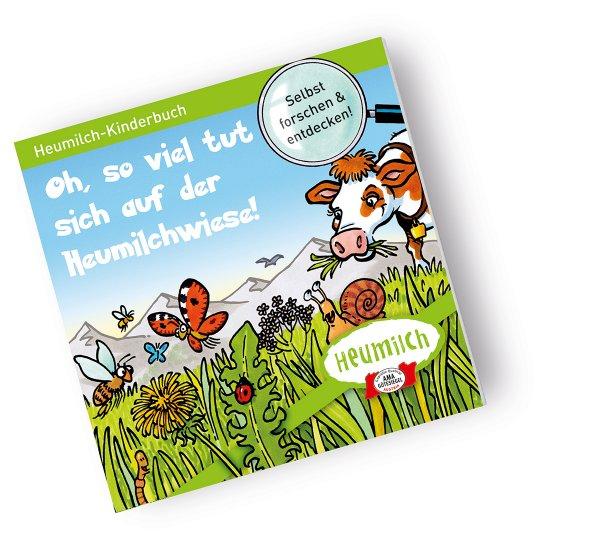 Heumilch Alm - Kostenlose Kinderbücher und Broschüren rund ums Heu und mehr