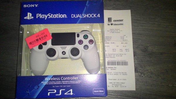 (Lokal Bruchsal) Sony DualShock 4 Controller für 40,-€ in verschiedenen Farben und Sony DualShock PS3 für 40,-€ beim Edeka ECenter