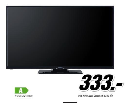 Telefunken D48F275R3C 48 Zoll FullHD LED TV für 333€ @Media Markt