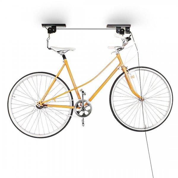 Amazon WHD - Relaxdays Fahrradlift Deckenmontage, Schwarz, 10010040