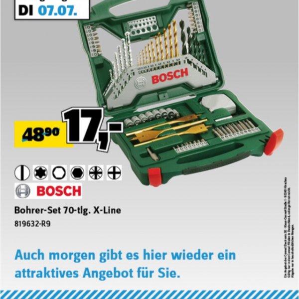 [lokal Bremen] Bosch Bohrerset 70tlg. X-line
