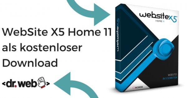 [Webdesign] WebSite X5 Home 11 für 0 € statt 19,99 €