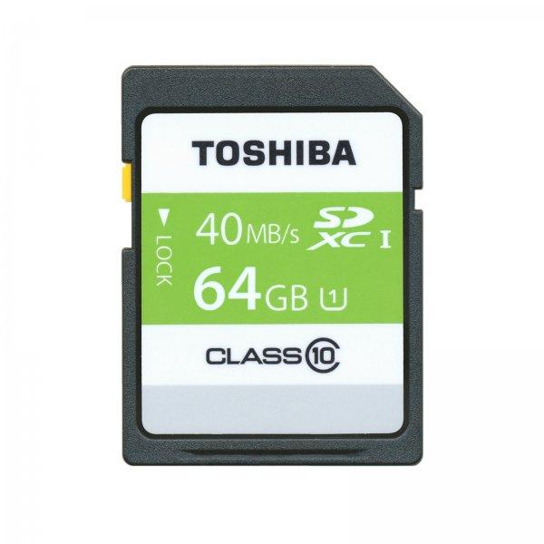 (ebay/mediamarkt) TOSHIBA HS Professional UHS1 64GB SD-Speicherkarte für 18,- EUR