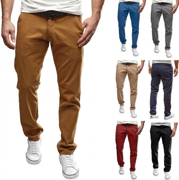 eBay-WOW: Herren Chinohose Jeans Hose Schwarz/Navy/Braun Regular Stil MERISH Chino 49 für 17,90€