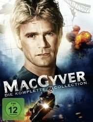 MacGyver - Die komplette Collection (38 DVDs) für 58,99€ @Bücher.de