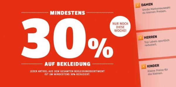 www.sportscheck.com 30% auf Sneaker Shirts Bademode Sandalen usw.