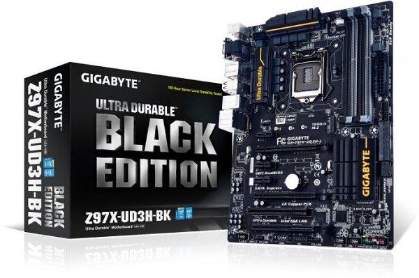 Gigabyte GA-Z97X-UD3H-BK Black Edition - 5 Jahre Garantie, Upgrade-Option (nächste Generation im Tausch kostenlos) - 111,89€ @ getgoods.de [GA-Z97X-UD5H-BK für 135,99€]