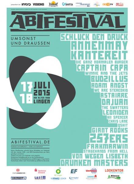 Umsonst und Draussen - ABIFESTIVAL 2015 am alten AKW in Lingen