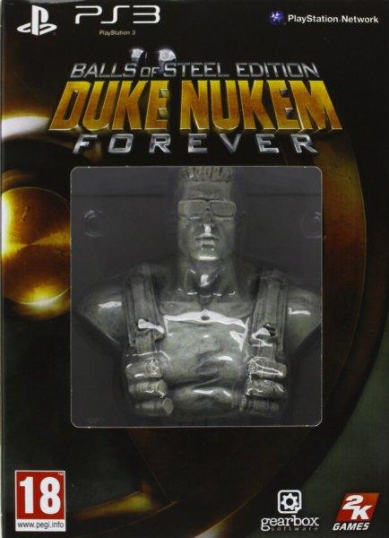 @Amazon: Duke Nukem Forever (PlayStation 3) Balls of Steel Edition für 12,48 € + Versandkosten (5,00 Euro FSK 18) / Ideal 29,99 €