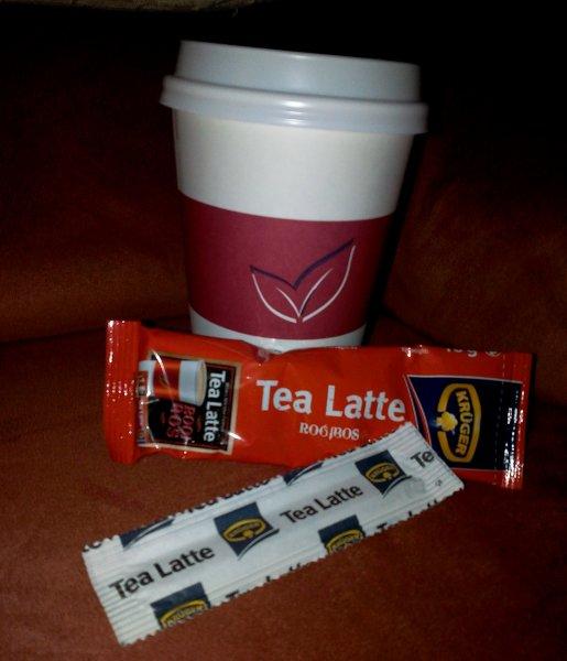 [KAISERS] Krüger Tea Latte Probe in Iserlohn-Letmathe
