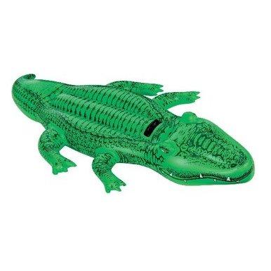 [ACTION] Aufblasbares Krokodil 168x86cm aus Vinyl mit Griff und Sicherheitsventil für 3,99€