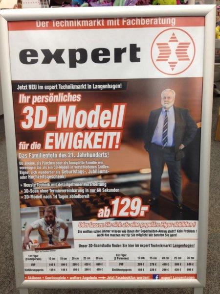 [expert] 3D Figuren zum Einführungspreis bei expert Langenhagen im CCL