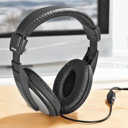 HAMA TV-Stereo-Kopfhörer » HK 3032 « @ Kaufland für 4,99
