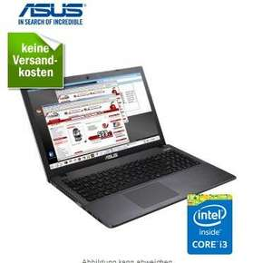 Asus PRO P550LAV-XO429D, mattes Display, Intel i3, free Dos für 299,99 @redcoon