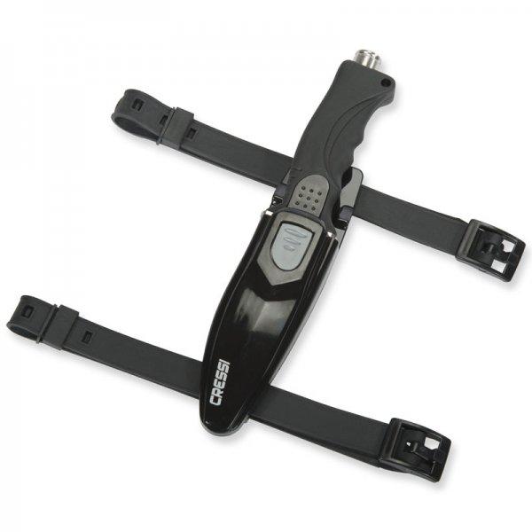 [Amazon Prime] TAUCHERMESSER Cressi Skorpion (Messer mit hochwertigem japanischem Stahl und Beinhalterung)