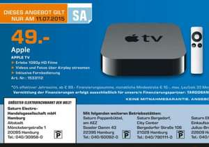 [LOKAL Hamburg] Saturn - Apple TV 3 am 11.07 für 49 €
