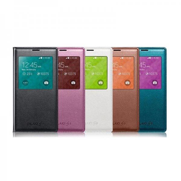 Samsung S5 S-View Cover div.Farben @orimo.eu