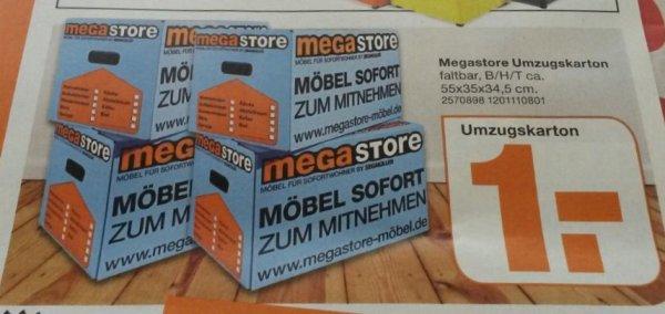 [MegaStore Weiterstadt] Umzugskartons 55x35x34,5 für 1€