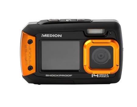 Wasserdichte Digitalkamera MEDION® LIFE® S43028 (MD 87028) für 47,45 € @Allyouneed