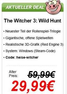 The Witcher 3: Wild Hunt - Download PC - 29,99 EUR