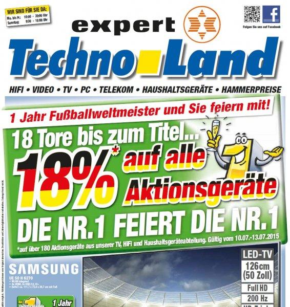 WM-Jubiläum bei Technoland Deizisau