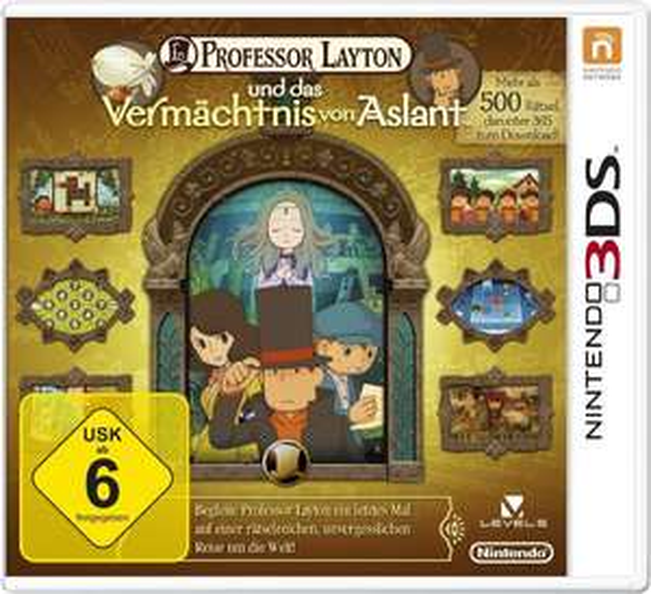 (Amazon Prime) Professor Layton und das Vermächtnis von Aslant (Nintendo 3DS) für 21,25 EUR