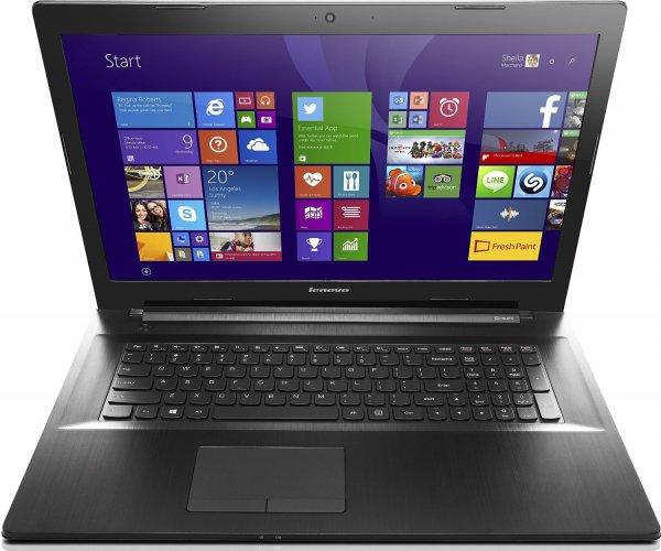 [Amazon] Lenovo G70-70 43,9 cm (17,3 Zoll HD+ TN) Notebook (Intel Core i3-4005U, 1,7 GHz, 4 GB RAM, 500 GB HDD, Intel HD 4400 Graphics, Win 8.1) schwarz