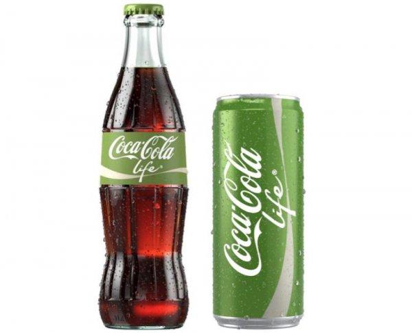 Coca Cola life (Augsburg, Königsplatz)