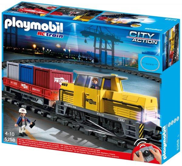 Playmobil - RC- Güterzug mit Licht und Sound - 5258