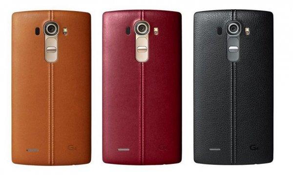 LG G4 32GB in der braunen und roten Ledervariante für 509,95€ bei Vorkasse/Abholung @modeo.de