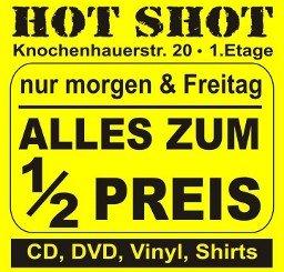 (Bremen) 50% auf ALLES bei hotshots records