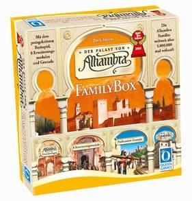 """[Galeria Kaufhof] Brettspiel """"Alhambra Family Big Box"""" (Grundspiel + 4 Erweiterungen + Granada) für 22,49€"""