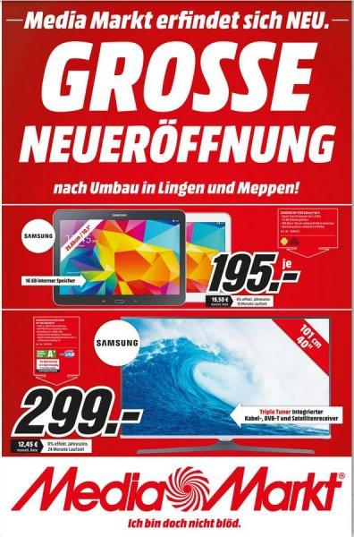 [Lokal] Media Markt Lingen/Meppen Neueröffnung - z.B. PS4 Controller 44 Euro oder PS4 299 Euro + viele weitere Angebote